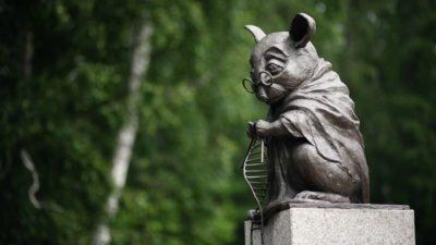 памятник мыше