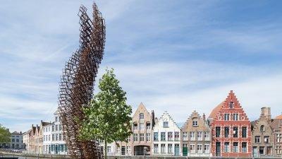 В Брюгге стартовал Фестиваль современного искусства (фото)