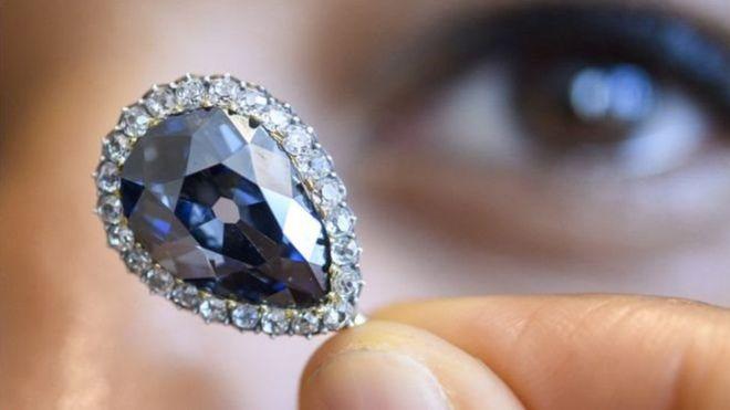блакитний діамант