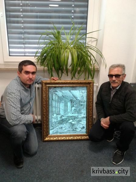 гравюры на стекле
