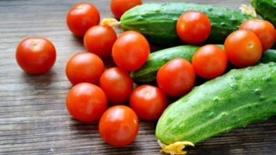 огурцы_помидоры