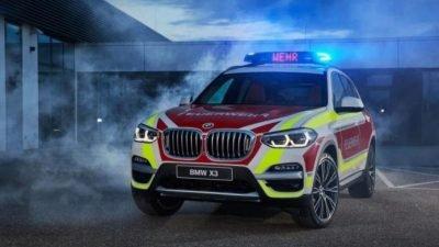 пожарный BMW