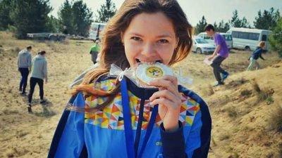 Студентка ДНУ Ганна Гуделайтіс – майстер спорту України!