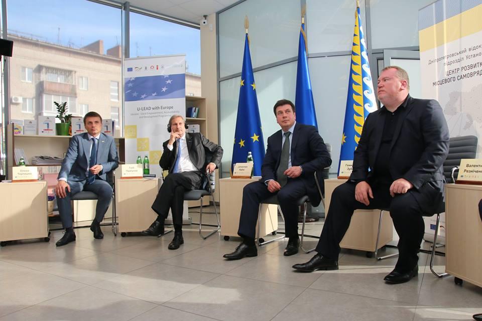 «Хаб децентралізації» - європейський досвід в Україні2