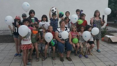 Фонд Вилкула передал спортивное снаряжение детскому лагерю «Дивосвіт»2