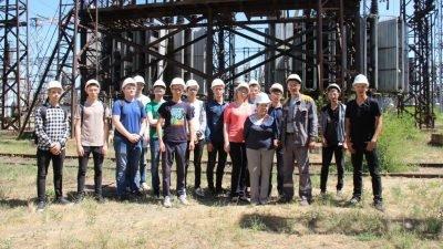 Студенты техникума изучили работу ДТЭК Приднепровской ТЭС 6
