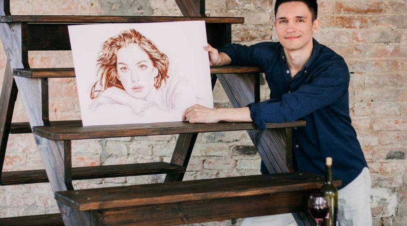 Художник из Днепра рисует вкусные портреты (Фото)