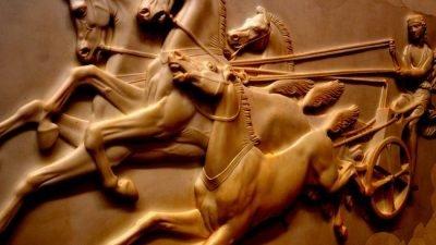 древння колесница