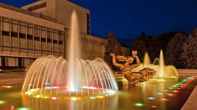 фонтаны в Днепре
