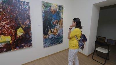 У Дніпрі можна побачити портрети жебраків (Фото)