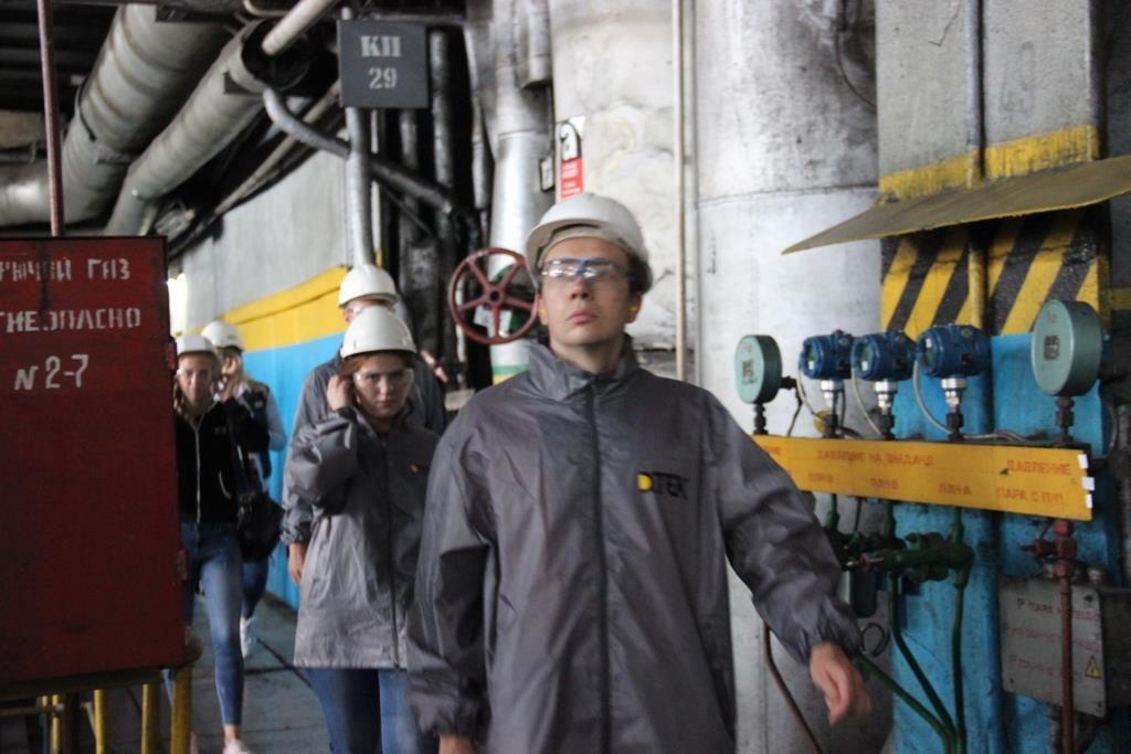 Будущие экологи ознакомились с работой ДТЭК Приднепровской ТЭС64