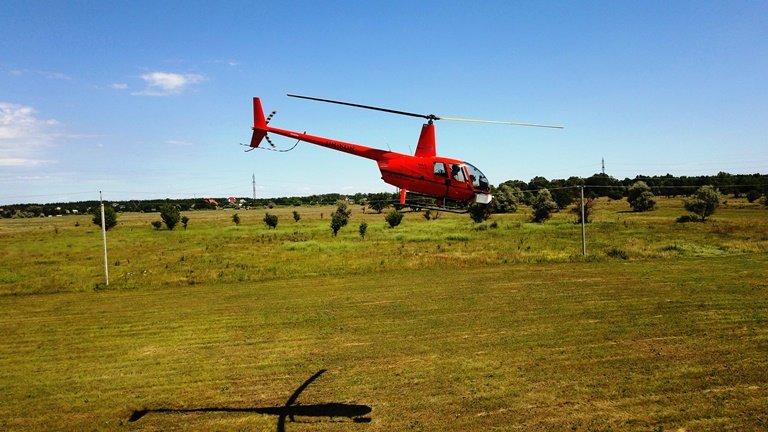 Днепровские электросети первыми в Украине использовали вертолеты для обследования ЛЭП