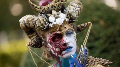 В Австрии прошел всемирный фестиваль боди-арта (фото)
