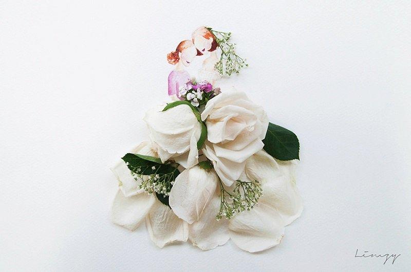 цветочные акварели