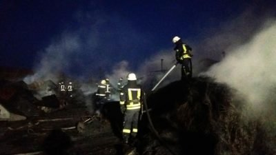 В Запоріжжі сталася пожежа на підприємстві2