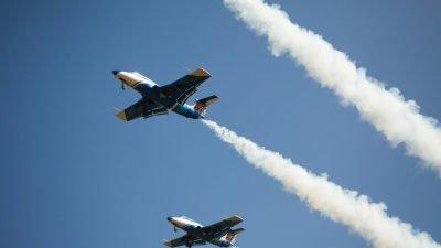 Авіашоу «Вільне небо» зібрало рекордні 45 тис людей