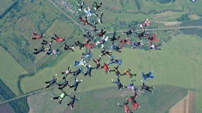 мировой рекорд_парашюты_Харьков