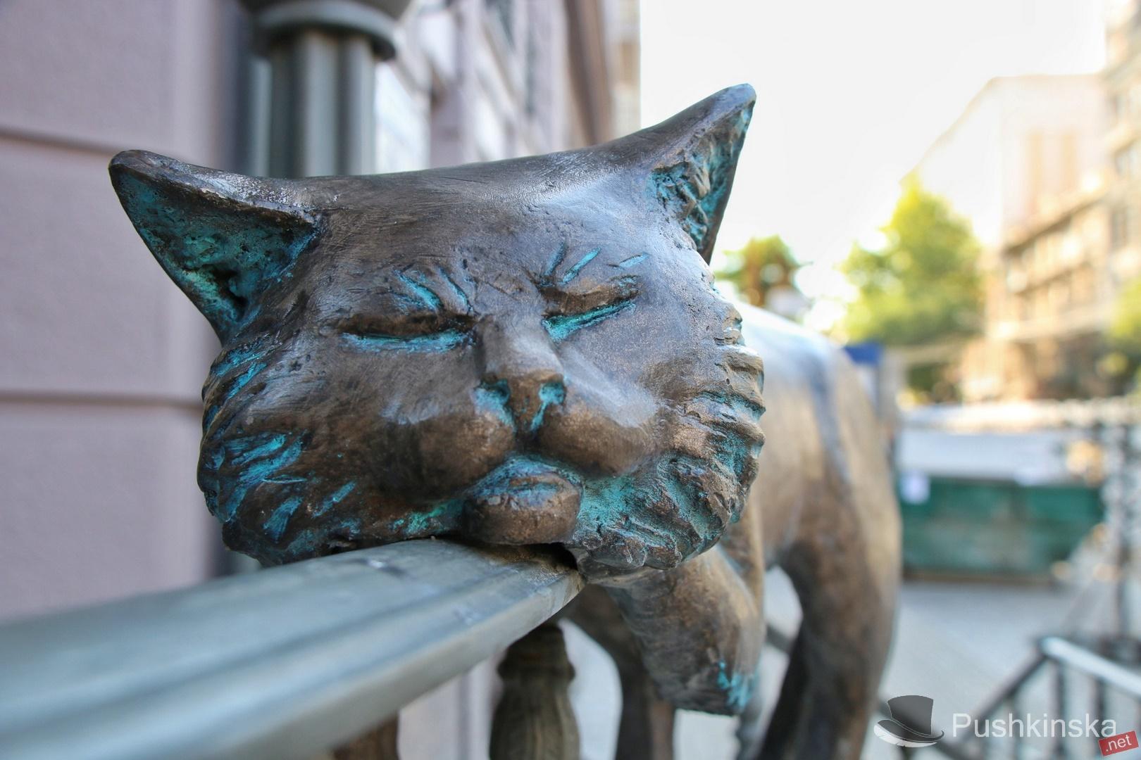 скульптура кота_Одесса