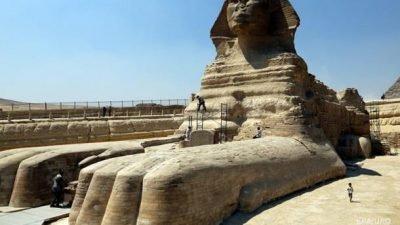 статуя Сфинкса