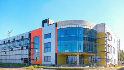 У Слобожанському завершується будівництво спорткомплексу