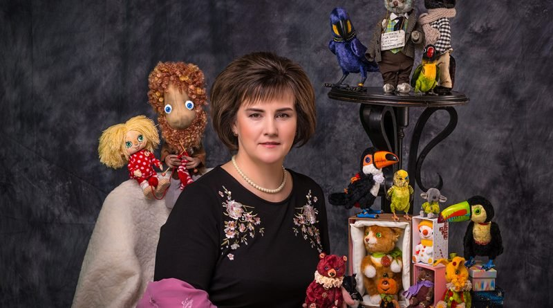 Мастерица из Днепра создает уникальные сказочные игрушки (Фото)