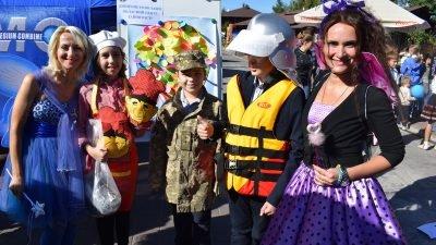На Благодійному фестивалі «Мама+Я» працювала локація Дніпропетровської служби зайнятості