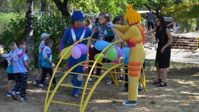Открытие территории здорового детства в детском саду Родничок