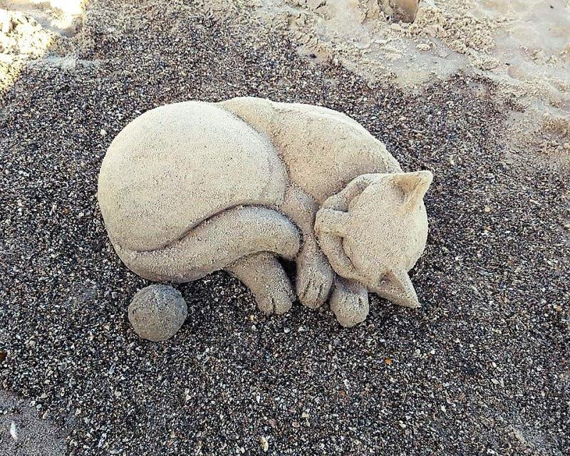 фигуры из песка_Одесса