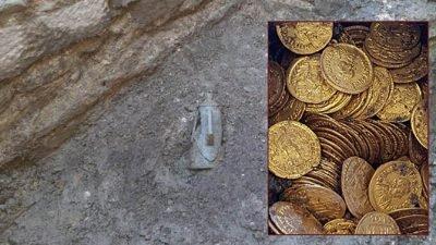 клад_золотые монеты