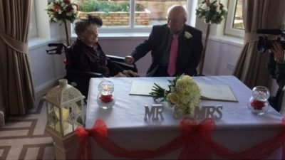 100-річна наречена