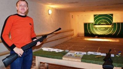 Победитель спортивной стрельбы Александр Трохимчук