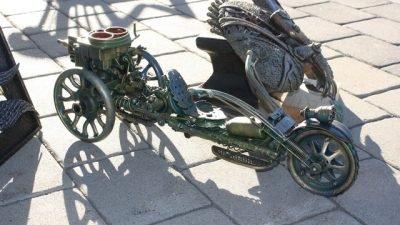 В Днепре куют металл прямо на набережной (Фото)