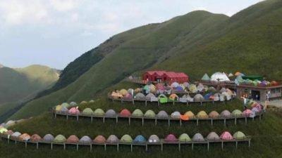 палатки_Китай