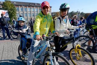 У Кам'янському обрали найспортивнішу велосім'ю