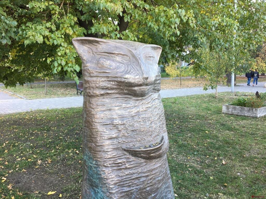 скульптура_кот Скиф
