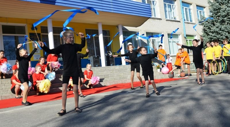 Спортивный праздник в школе