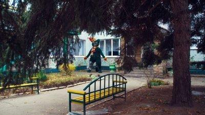 У Дніпрі «оселився» зимовий арт-об'єкт (Фото)