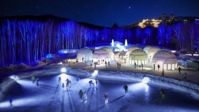 ледяная деревня