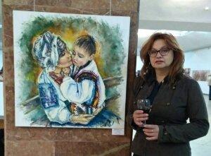Художниця з Кам'янського намалювала «українську мадонну»