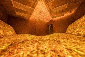 В Литве открылась первая в мире янтарная баня