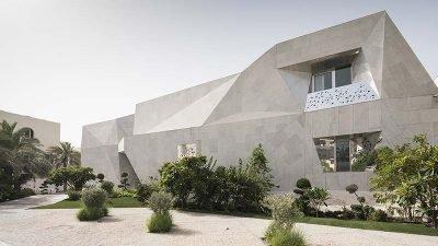 здание-оригами