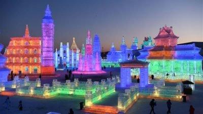 фестиваль Світ льоду та снігу