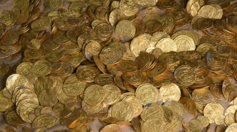клад монет_Кейсария