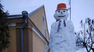 снеговик_Луцк