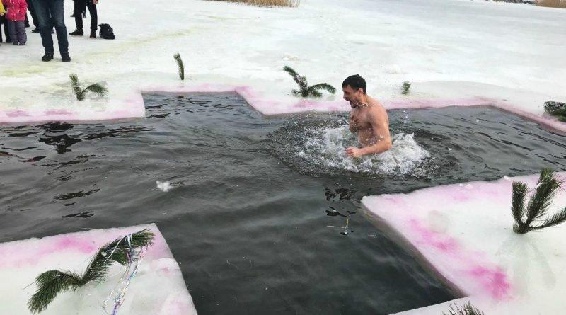 Крещение в Новомосковске