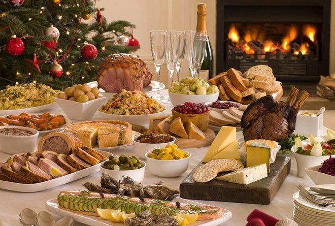 Рождественский стол1