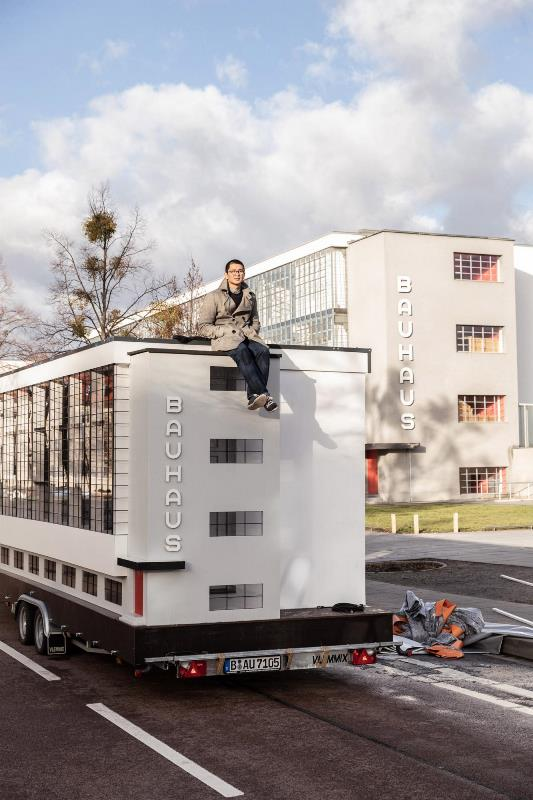 автобус в виде школы