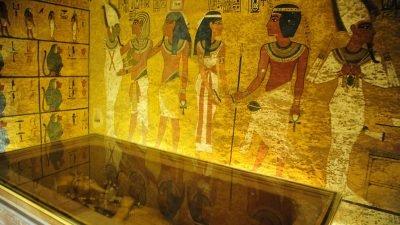 реставрация гробницы Тутанхамона