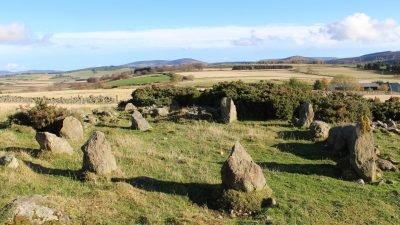 каменный круг_Шотландия