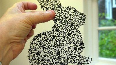 фигурное вырезание из бумаги